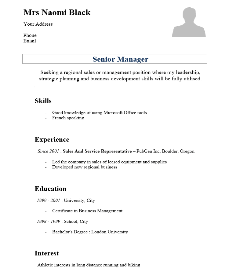 20 free cv templates and tips for resume writing