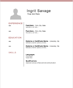 Chronological Zen Design CV